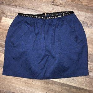 Topshop Blue Bell Skirt size 8